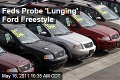National Highway Traffic Safety Administration Probes 'Lunging' Ford Freestyle