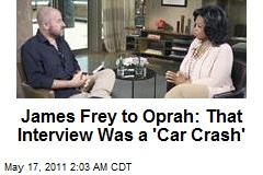 Liar James Frey Tells Oprah of 'Personal Crash'