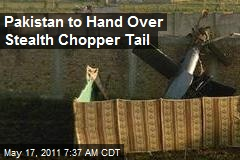 Pakistan to Hand Over Stealth Chopper Tail
