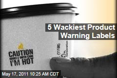 14th Annual Wacky Warning Labels Contest Selects Finalists