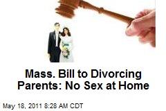 No sex at home