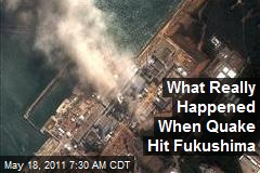 What Really Happened When the Quake Hit Fukushima