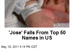 'Jose' Falls From Top 50 Names in US