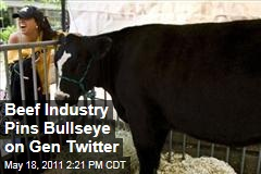 Beef Industry Seeks Younger Advocates