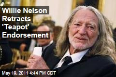 Willie Nelson Withdraws Gary Johnson 2012 Endorsement