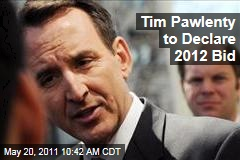Tim Pawlenty to Declare 2012 Presidential Bid Monday, Aide Says
