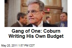 Tom Coburn Working on Own Budget Plan After Leaving Gang of Six