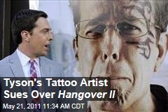 Mike Tyson's Tattoo Artist Sues Warner Brothers Over Use of Tattoo in Hangover II