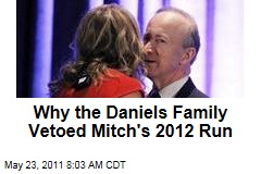 Why Cheri Daniels and Daughters Vetoed Mitch Daniels' 2012 Presidential Run