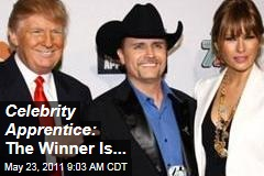 'Celebrity Apprentice' — The Winner Is ... Country Singer John Rich, Who Beat Marlee Matlin