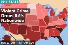 2010 FBI Crime Data: Violent Crime Drops 5% Nationwide
