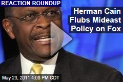 Herman Cain's Major Gaffe on Fox News Sunday