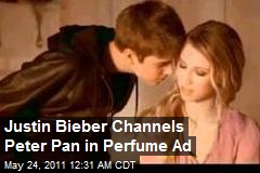 Justin Bieber Bares 'Peter Pan' Perfume Ad