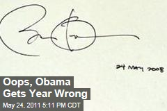 President Obama Gets Year Wrong on Westminster Abbey Guest Book