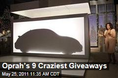 Oprah Winfrey's Favorite Things: Her 9 Craziest Audience Giveaways