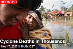Cyclone Deaths in Thousands