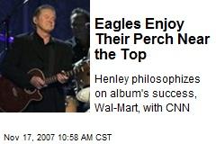 Eagles Enjoy Their Perch Near the Top
