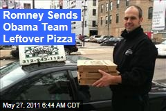 Mitt Romney Sends Obama Reelection Team Leftover Pizza