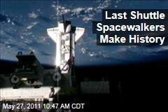 Endeavour: Last Shuttle Spacewalkers Make History