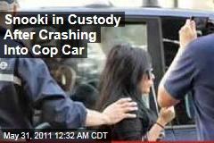 Snooki in Custody After Italy Cop Car Crash