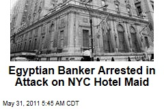 Egyptian Banker Mahmoud Abdel Salam Omar Accused of Attacking NYC Hotel Maid