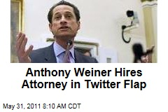 Anthony Weiner Hires Attorney Over Twitter Photo