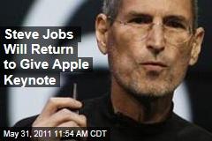 Apple CEO Steve Jobs To Deliver Next Week's Apple Keynote