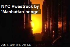 NY Awestruck by 'Manhattan-henge'