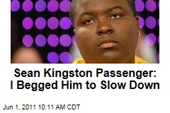 Sean Kingston Jet Ski Passenger: I Begged Him to Slow Down Before Crash