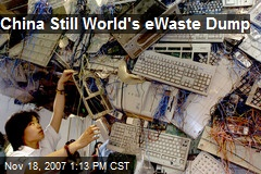 China Still World's eWaste Dump