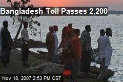 Bangladesh Toll Passes 2,200