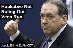 Mike Huckabee Still Open to Vice Presidential Run
