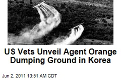 US Vets Unveil Agent Orange Dumping Ground in Korea
