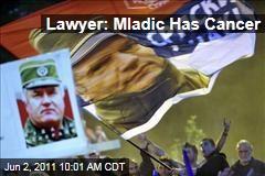 Ratko Mladic Has Lymph Node Cancer, Lawyer Says