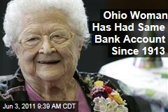 Ohio Woman June Gregg Has Bank Account Opened in 1913