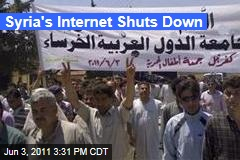 Syria Shuts Down Internet as Protests Intensify
