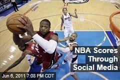 The NBA Scores in Social Media Game