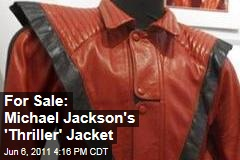 Michael Jackson's 'Thriller' Jacket Up For Auction