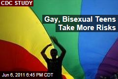 Gay, Bisexual Teens Do Riskier Things in New CDC Study