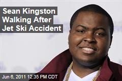 Sean Kingston Walking After Jet Ski Accident, Upgraded to Serious Condition
