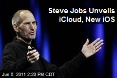 Steve Jobs Unveils iCloud, New iOS