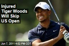 Tiger Woods Will Skip US Open, Says Leg Still Hasn't Healed