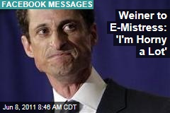 Anthony Weiner's Facebook Messages With Lisa Weiss Revealed