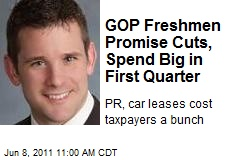 GOP Freshmen Promise Cuts, Spend Big in First Quarter