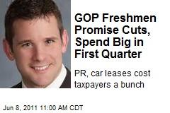 GOP Freshmen Promise Cuts, Spend Big in First Quarter