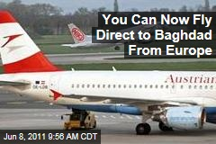 Austrian Airlines Resumes Baghdad Flights After 21 Years