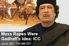 Moammar Gadhafi Is Behind Mass Rapes in Libya: International Criminal Court Prosecutor
