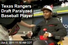 Texas Rangers Draft Paralyzed Baseball Player Johnathan Taylor