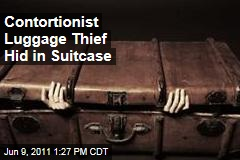 Contortionist Luggage Thief Hid Himself in Suitcase in Spain