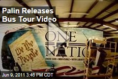 Sarah Palin's One Nation Bus Tour Releases Video